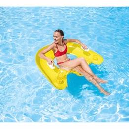 Intex Lounge Sit`n Float, Mehrfarbig, 152 x 99 cm -